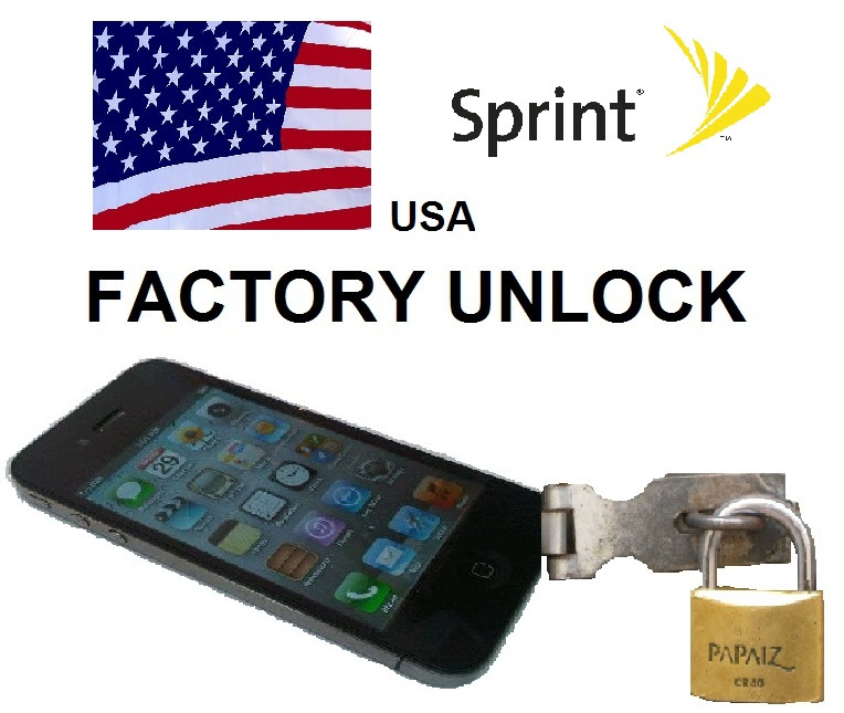 PHONES PARTS SERVICE : iPhone Unlock SPRINT for 4s, 5 Clean IMEI only, 1-3 days