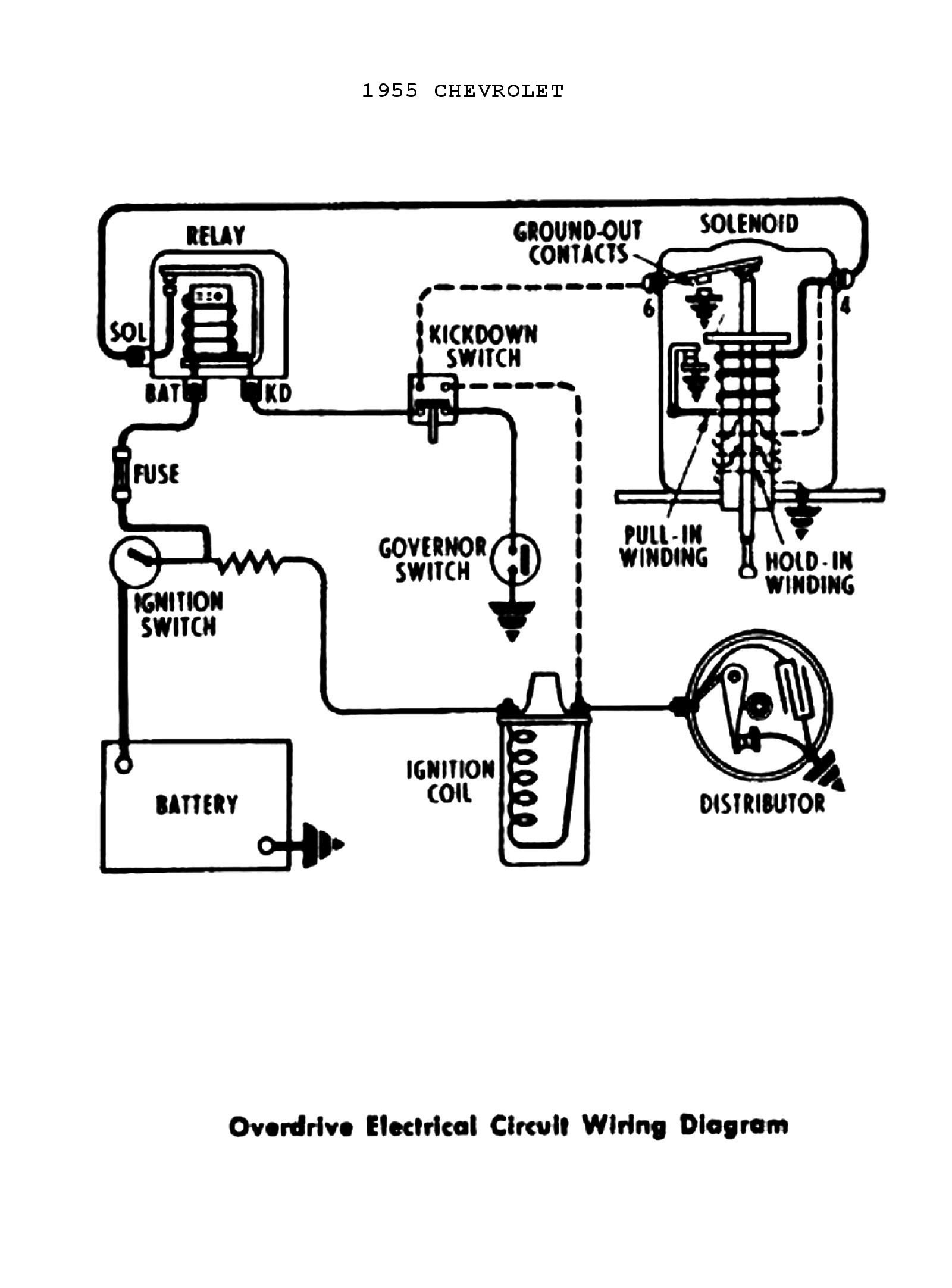 1951 chevy truck wiring diagram