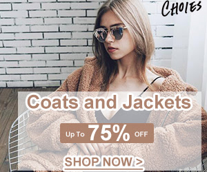 Winter Essentials!Coats and Jackets Collection!Warmhearted and Fascinating!Let's party!Up to 75% OFF