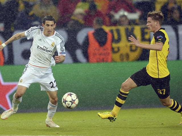 real madrid borussia dortmund