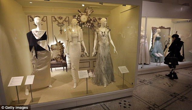 The exhibition, which has a total of 60 dresses on display, opens on May 19 and runs until January next year