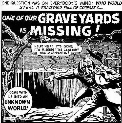 one of our graveyards is missing