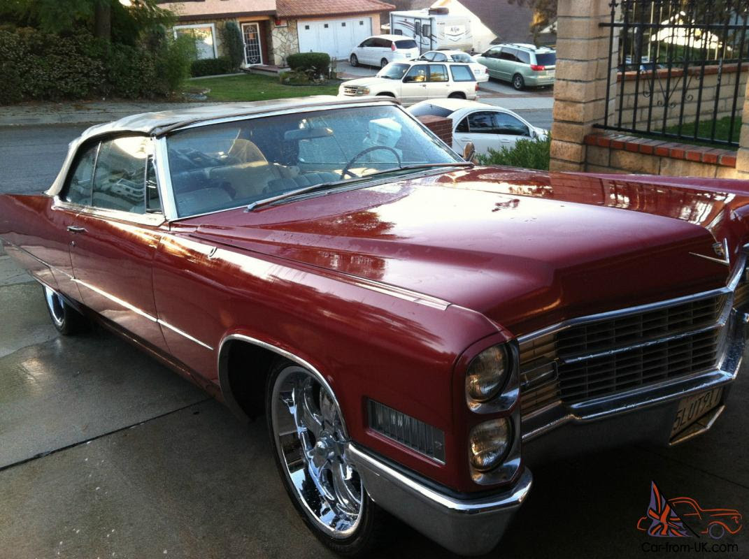 1966 Cadillac Coupe DeVille Convertible for Sale!