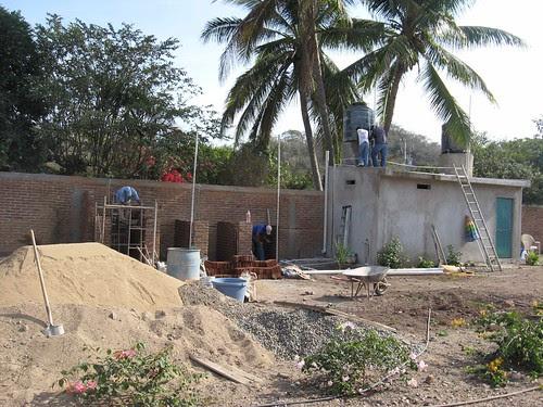 Construction central in Arroyo Seco