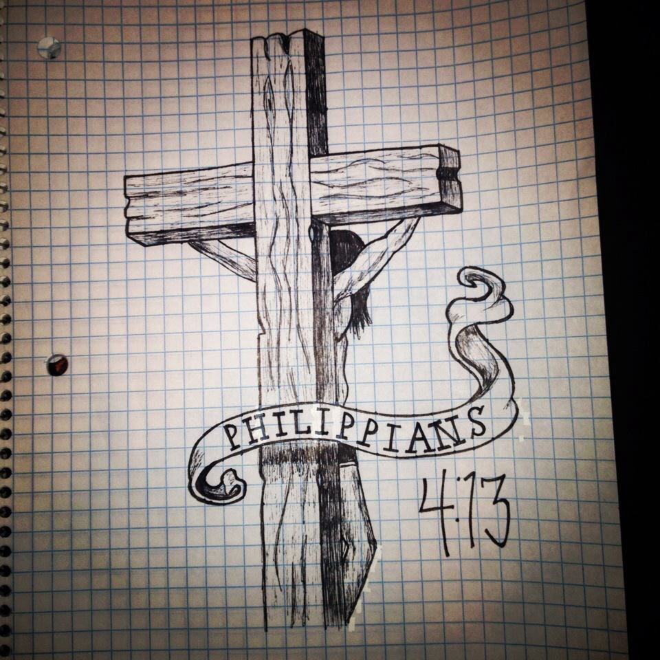 Catholic Cross Drawing At Getdrawingscom Free For Personal Use