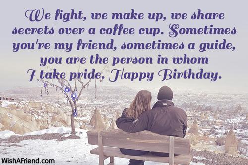 We fight, we make up, we, Birthday Wish For Husband