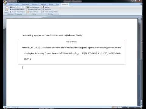 Working With Write-N-Cite for Windows v.2