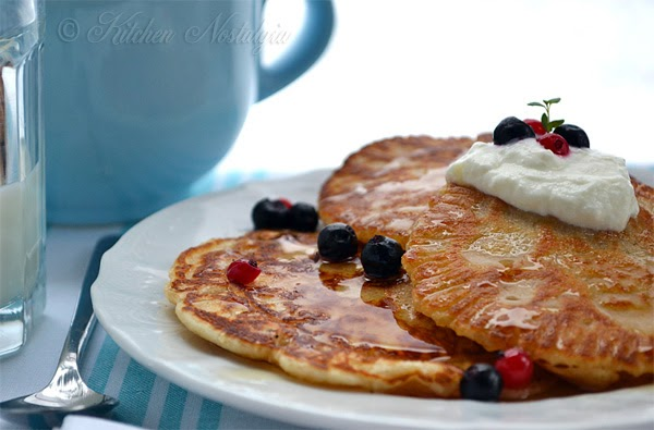 how to make pancakes from scratch without milk