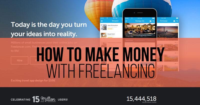can you make money on freelancer com
