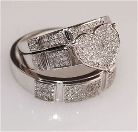 Wedding ring set, The o'jays and Wedding on Pinterest
