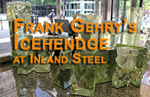 Icehendge? Chicago has a new Frank Gehry, and it's Like Nothing You've Seen