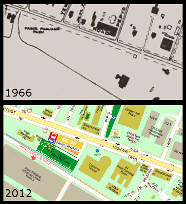 Map of Pasir Panjang Park
