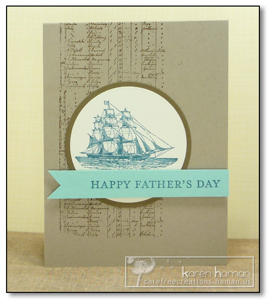 by Karen @ Carefree Creations - Captain Dad