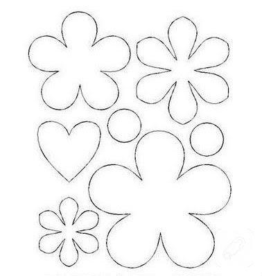 Kağıttan Desenli çiçekler 10marifetorg