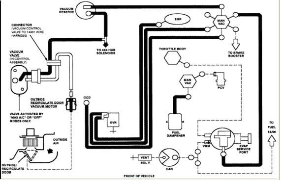 30 2003 Ford Ranger Vacuum Hose Diagram
