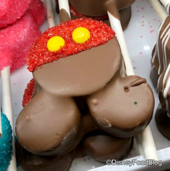 Mickey's Red Shorts Cake Pop