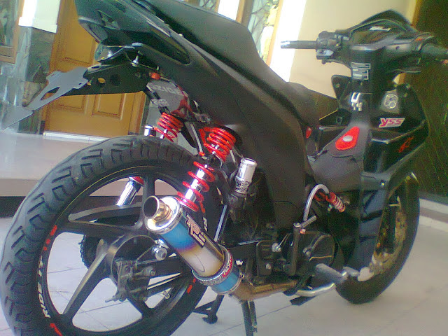 Modifikasi Motor Revo Absolute