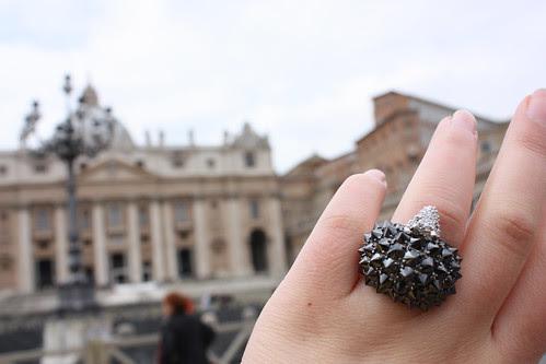 Hedgehog ring