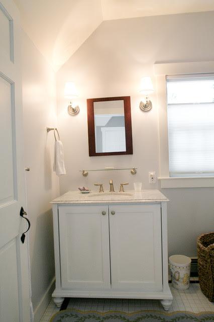 Celia Bedilia Mini Vanity - traditional - bathroom vanities and ...