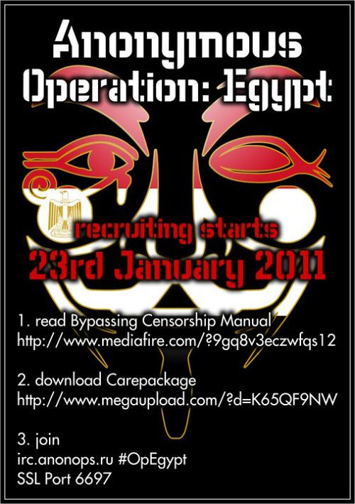 Anonymous  - Operation Egypt