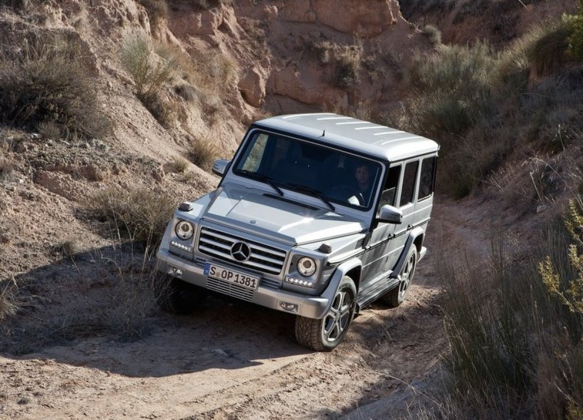 Mercedes Benz To Launch G-Wagon Replacement In 2017