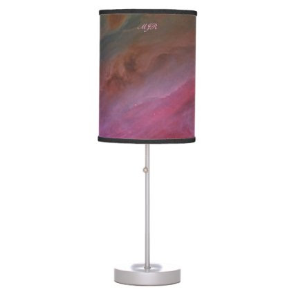 Monogram, Orion Nebula Pillars of Dust space image Desk Lamps