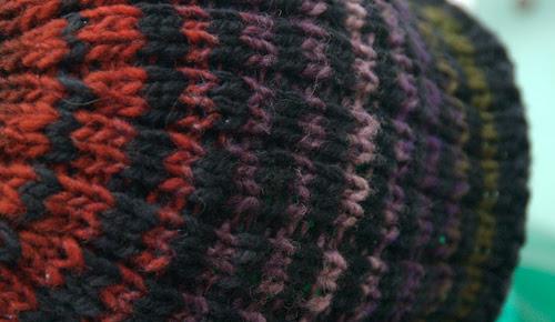 Handknit hats