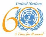 UN 60 logo