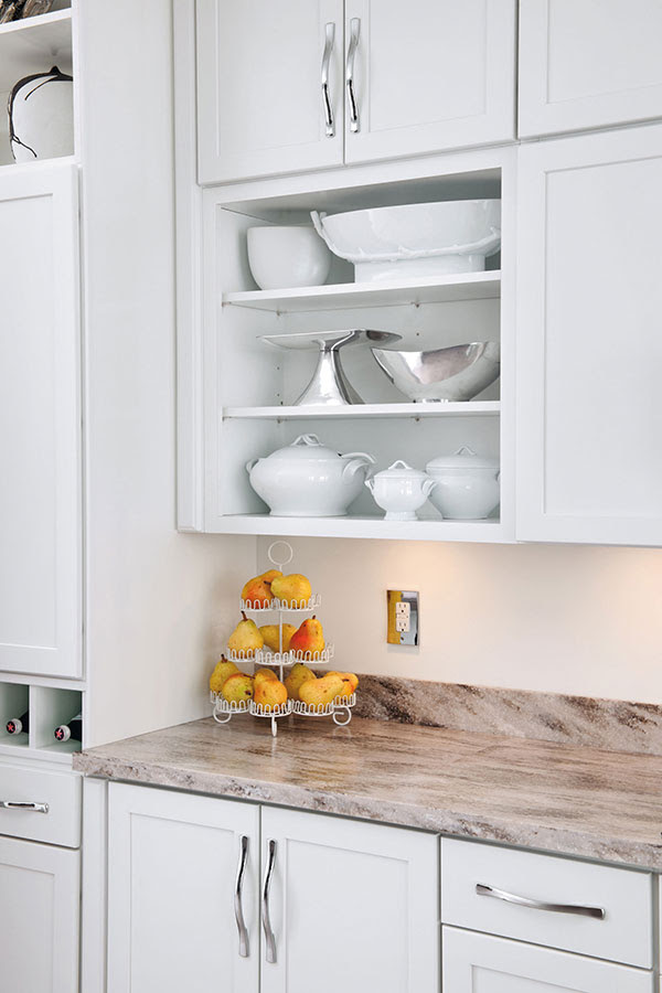 Wall Open Cabinet - Aristokraft Cabinetry