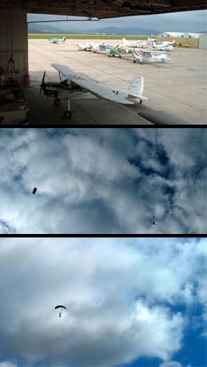 Skydiving photos montage.
