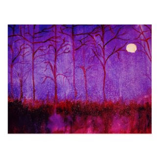 Night Enchanted Post Cards