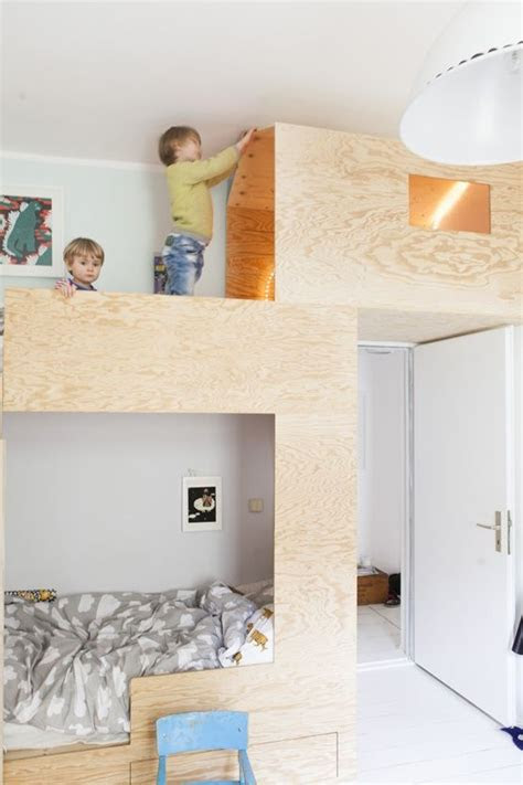 plywood bunk bed  jaell tofta home mehrbettzimmer