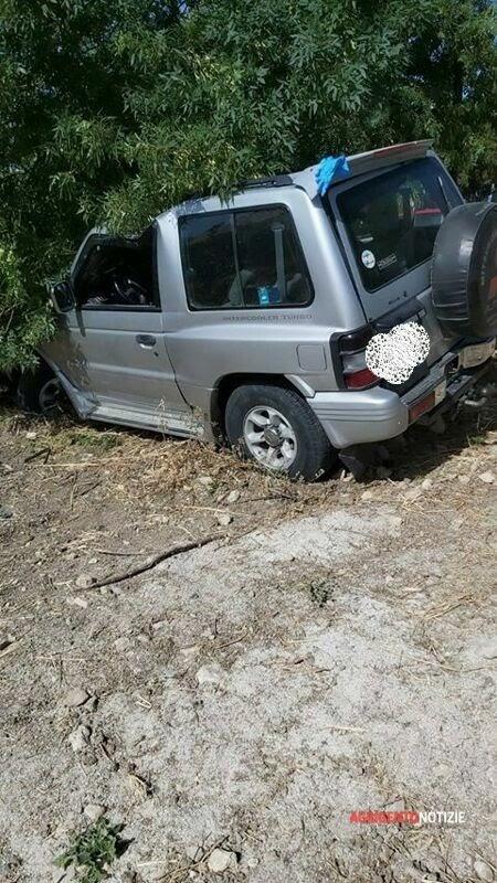 Agrigentonotizie.it – Incidente lungo la provinciale fra Raffadali e Siculiana: due anziani feriti, uno è grave