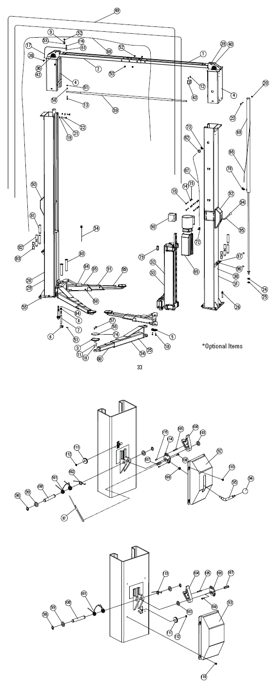 Diagram Wiring Diagram 2 Post Lift Full Version Hd Quality Post Lift Fall Diagram Encredutoner Fr