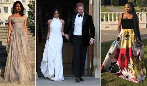 Royal Wedding Guests Show Off After Party Outfits
