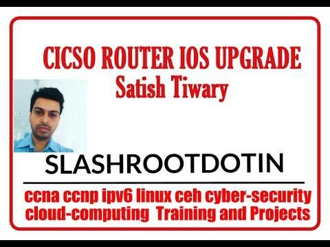 How to upgrade or degrade Cisco Router IOS using TFTP server