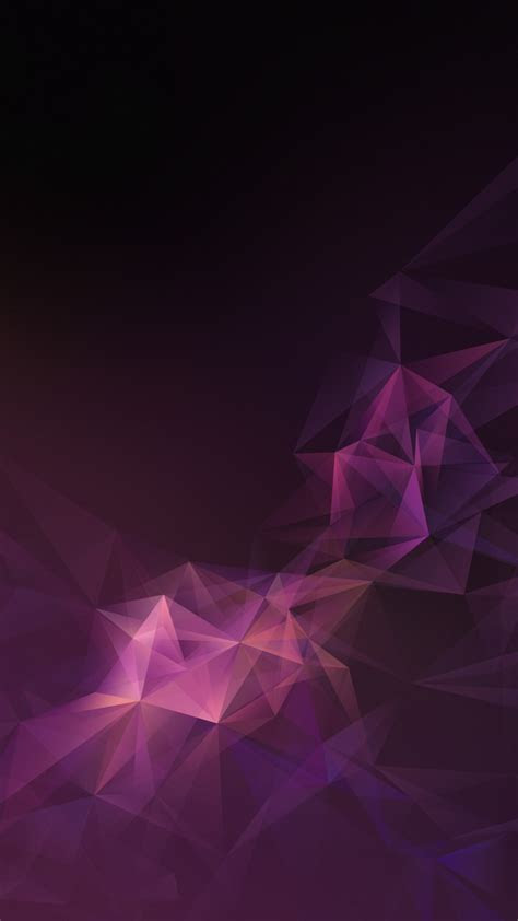 pink lowpoly abstract samsung galaxy  stock wallpapers