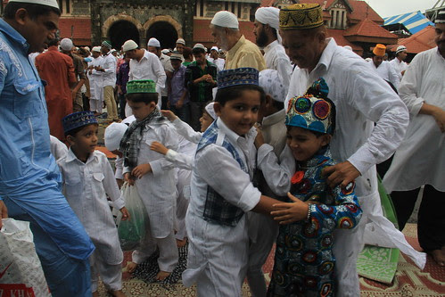 The Eid Hugging Picture Session Begins After The Namaz ,,,For The Respected Media Of Mumbai by firoze shakir photographerno1