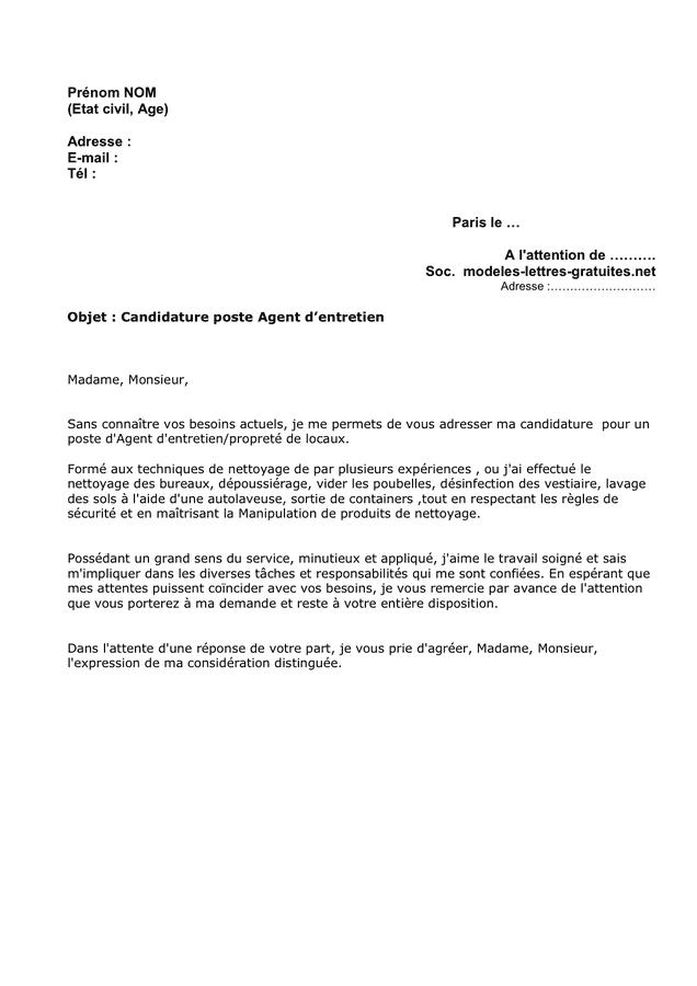 lettre de motivation mairie etat civil