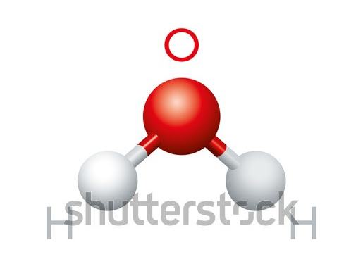 H2o Water Molecule Structure