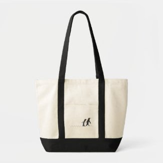 Penguin Prints Totebag Black bag