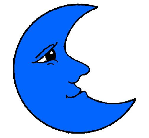 Dibujo De Luna Pintado Por Nana21 En Dibujos Net El Dia 19 02 11 A