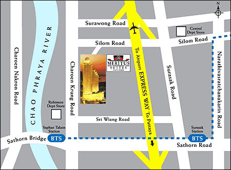 State Tower Bangkok Location Map,Location Map of State Tower Bangkok,State Tower Bangkok Accommodation Destinations Attractions Hotels Map Photos Pictures