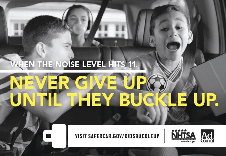The MiniVan Should Not Be a Battlefield – Buckle Up for Tween Seat Safety #KidsBuckleUp