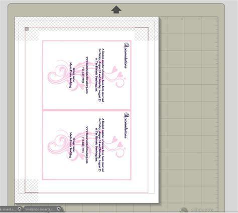 DIY Wedding Invitations {Silhouette Tutorial}   Create and