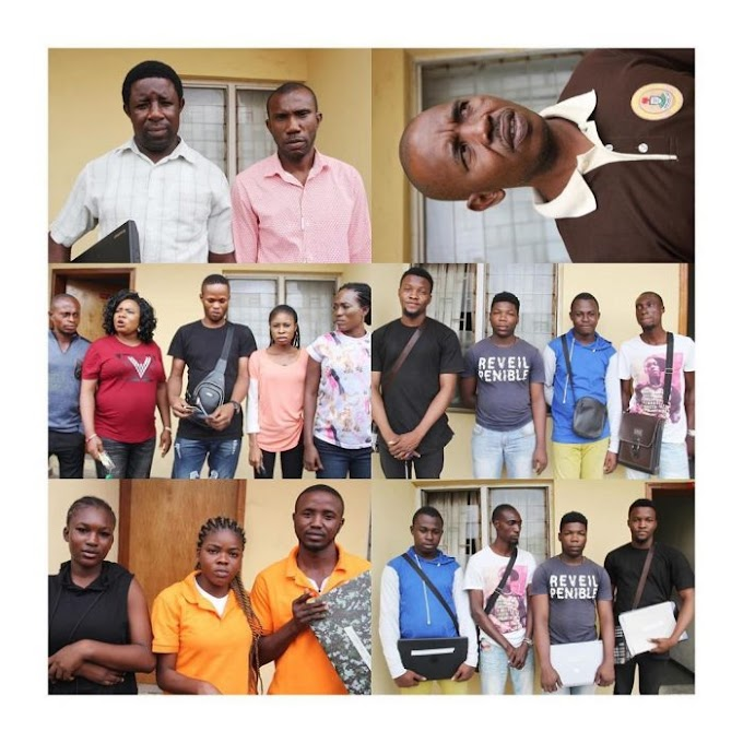 EFCC Arrests Immigration Officer, 14 Others Passport Racketeers