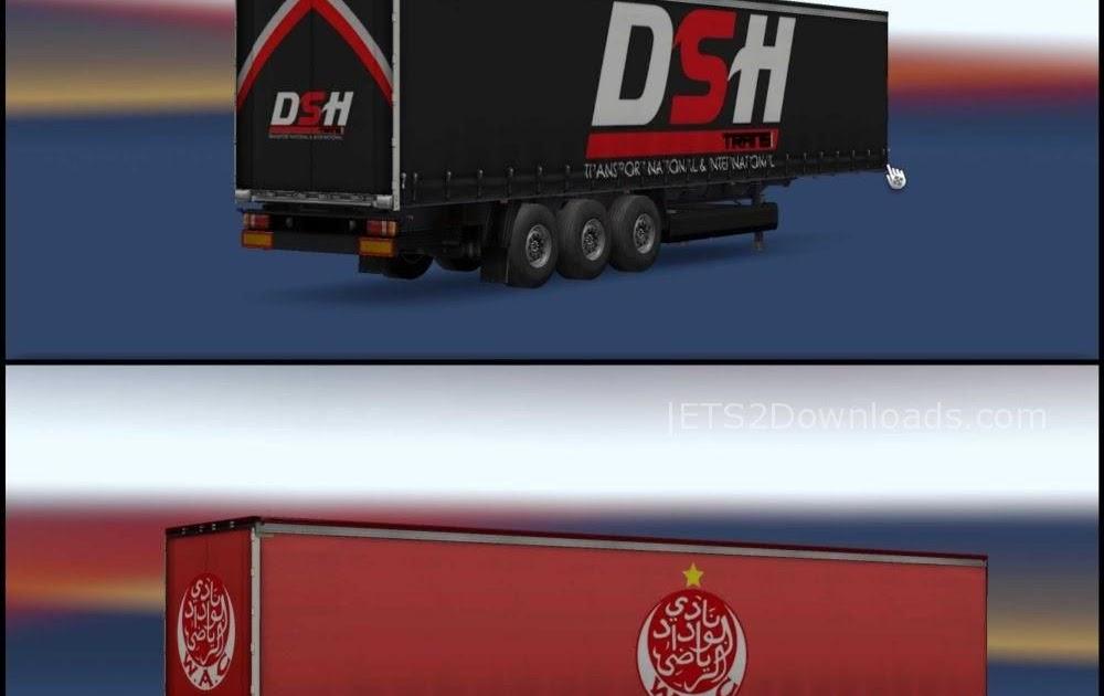 Moroccain Trailers Pack v1.0 ~ Euro Truck Simulator 2 Spot