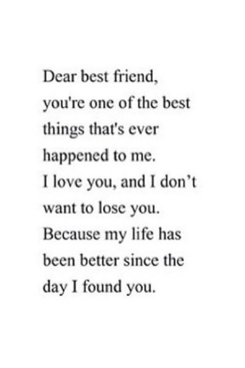 Quote Best I Love You Friendship Friend Best Friends Ily The
