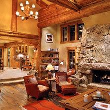 Interior Walls Mix Of Wood And Drywall