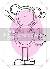 Lollipop Monkey(Girl)